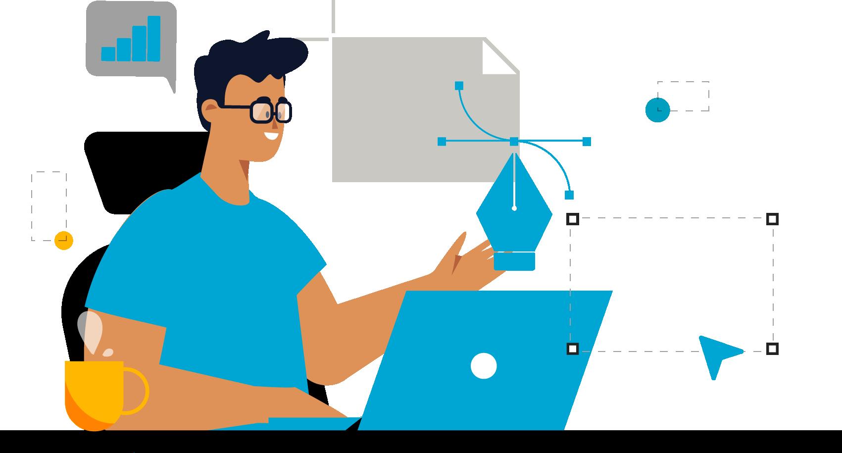KB Project to dynamicznie rozwijającą się firmą z perspektywami dalszego działania . Posiadamy przeszło kilku letnie komercyjne doświadczenie w branży reklamowej. Oferujemy działania w zakresie Fotografii i filmowaniu, Marketingu, Grafiki komputerowej, social mediów oraz budowanie stron i sklepów internetowych. A także ciągle poszerzamy swoją wiedzę i umiejętności przez kursy i certyfikację projektowanie logo