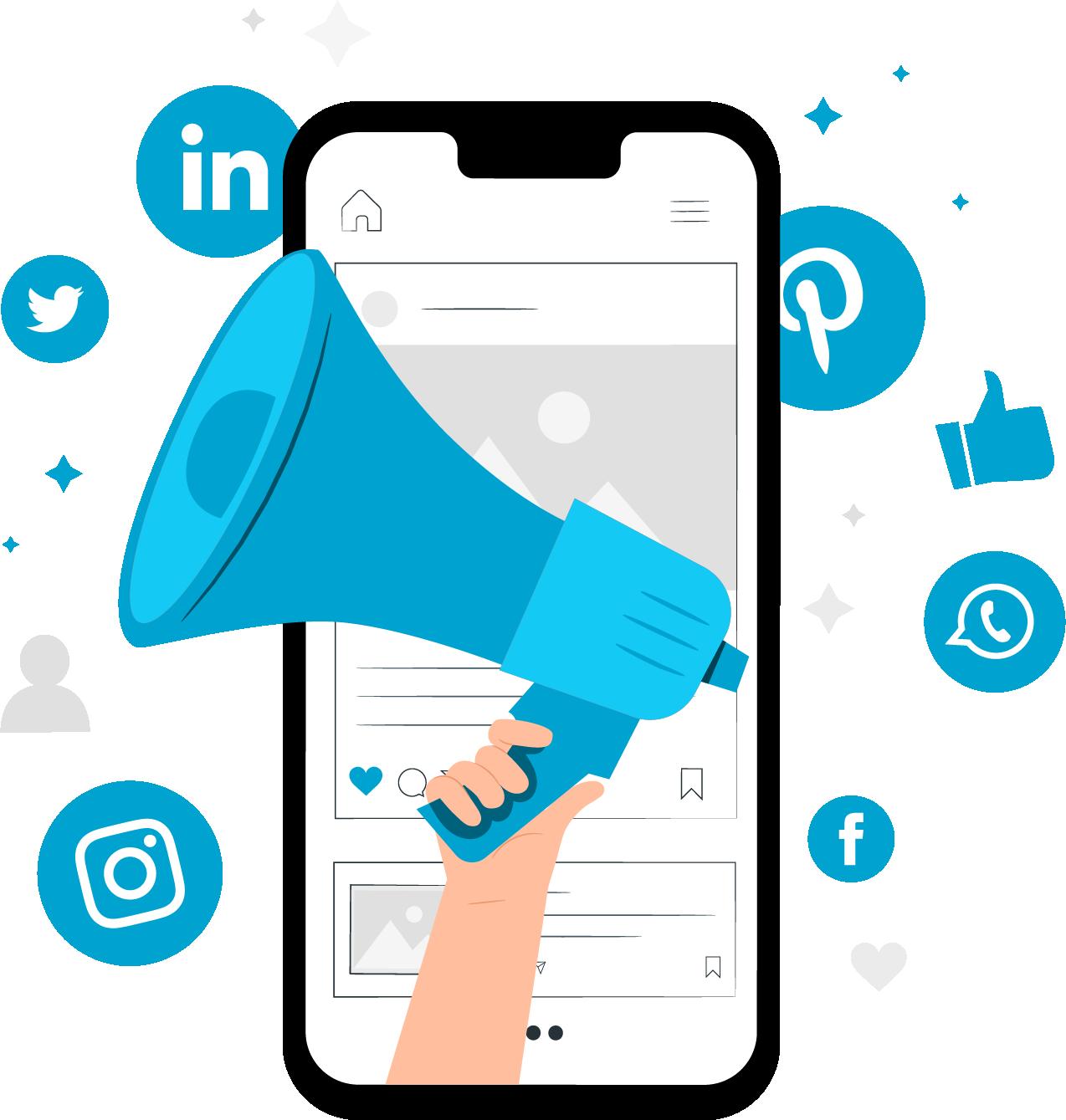 Prowadzenie kont społecznościowych w social mediach